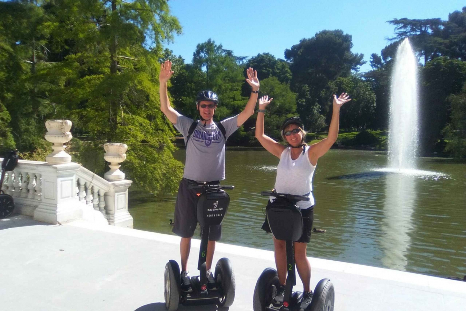Authentic Madrid 1-Hour Segway Tour