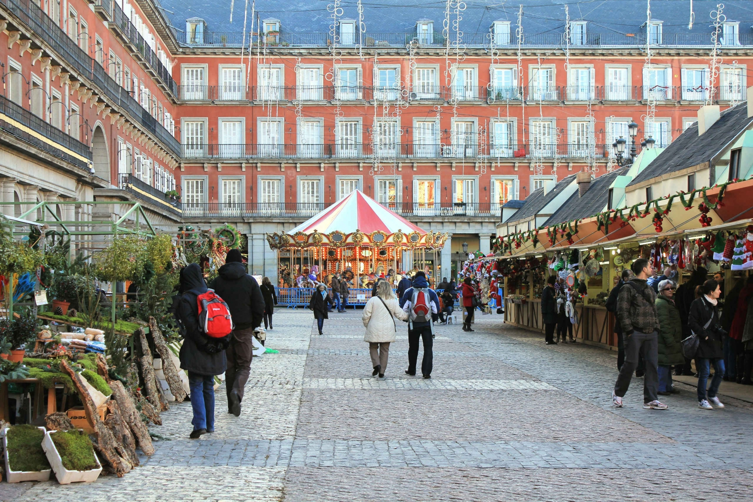 Explore Madrid with a Local at Christmas