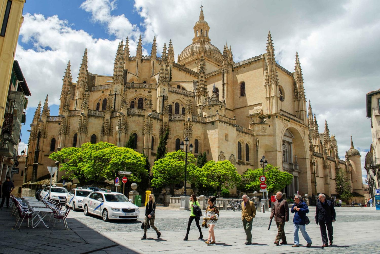 From Avila with Walls & Segovia Full-Day Tour