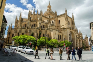 From Ávila with Walls & Segovia Full-Day Tour