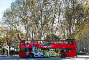 Hop-On Hop-Off Bus & Santiago Bernabéu Stadium Tour