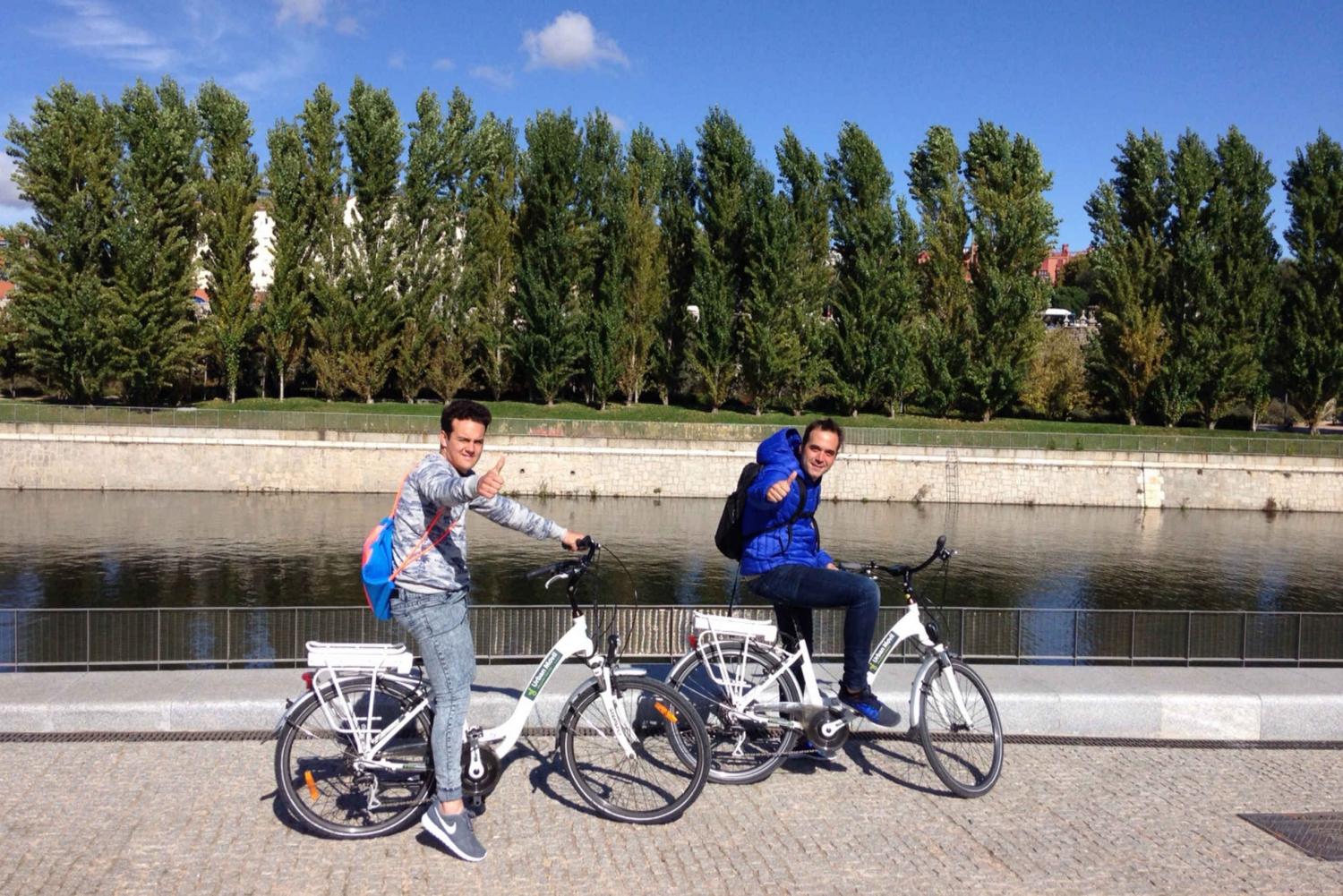 Literary Quarter & Retiro Park Electric Bike Tour