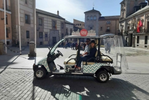 Madrid: 1-Hour Buggy Tour with Alcoholic Shots