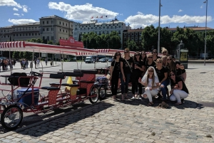 Madrid: 1-Hour Unlimited Beer Bike for up to 4 People