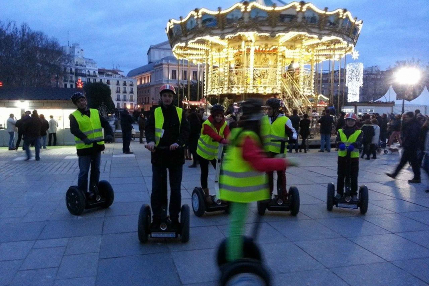 Madrid by Night: 1-Hour Segway Tour