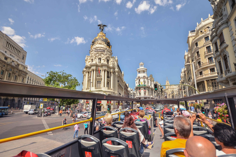 Madrid City Tour (Hop-On Hop-Off Bus Tour)