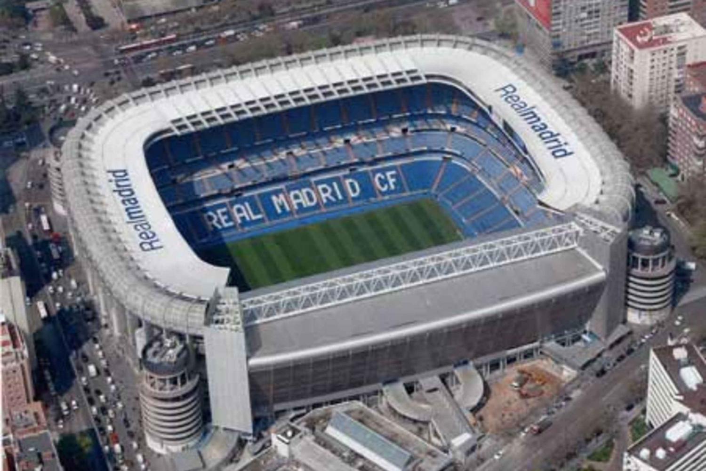 Madrid Half-Day Sightseeing Tour with Bernabeu Stadium