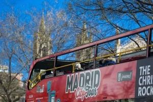 Madrid: Hop-On Hop-Off Bus & Santiago Bernabéu Stadium Tour