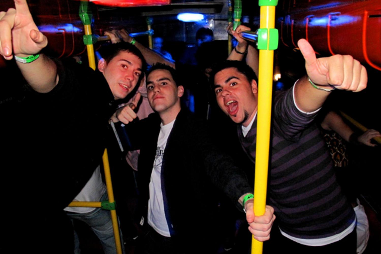 Madrid Party Bus All Night Nightclub Tour
