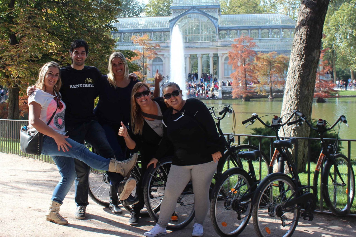 Madrid Private Guided Bike Tour