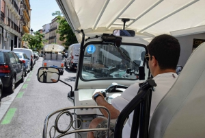 Madrid: Sightseeing Tuk-Tuk Tour for up to 4 People