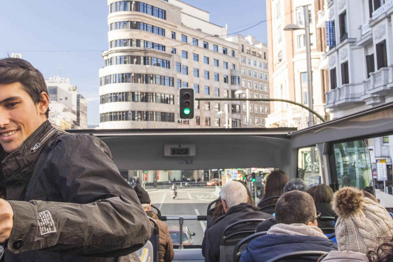 Panoramic Open Top Bus Tour