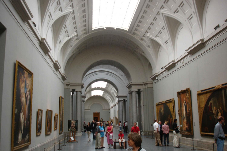 Paseo del Prado and the Museo Nacional Del Prado