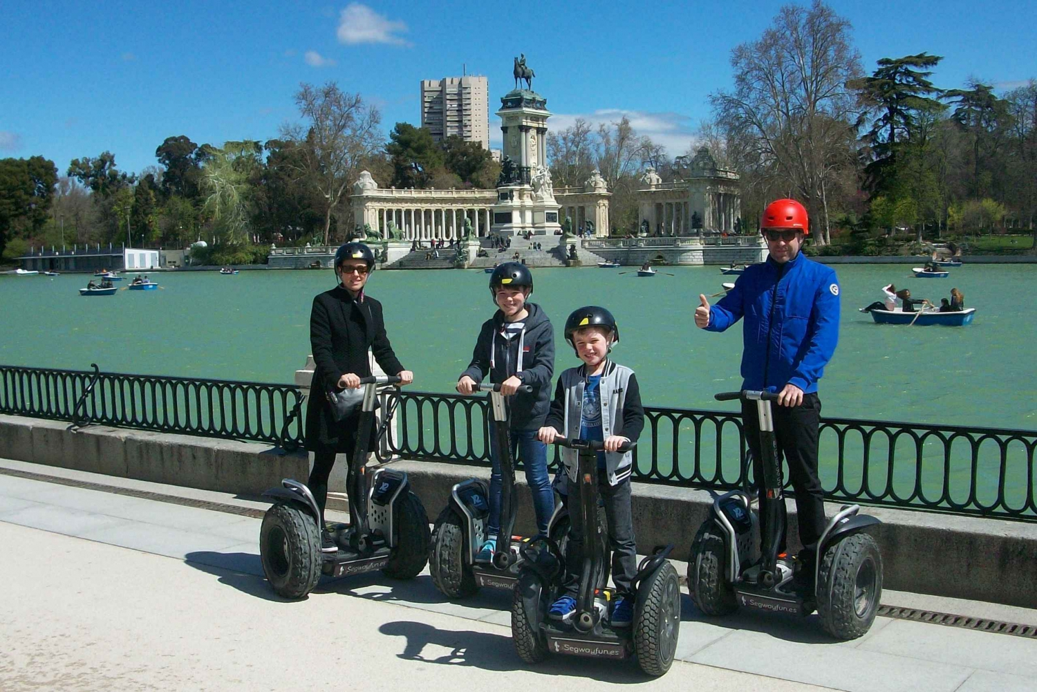 Private Retiro Park Segway Tour