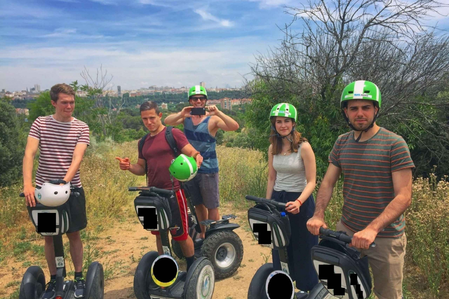 Segway Experience: Madrid River Park