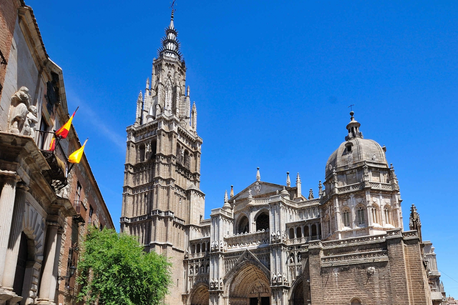 Toledo Cathedral from Madrid