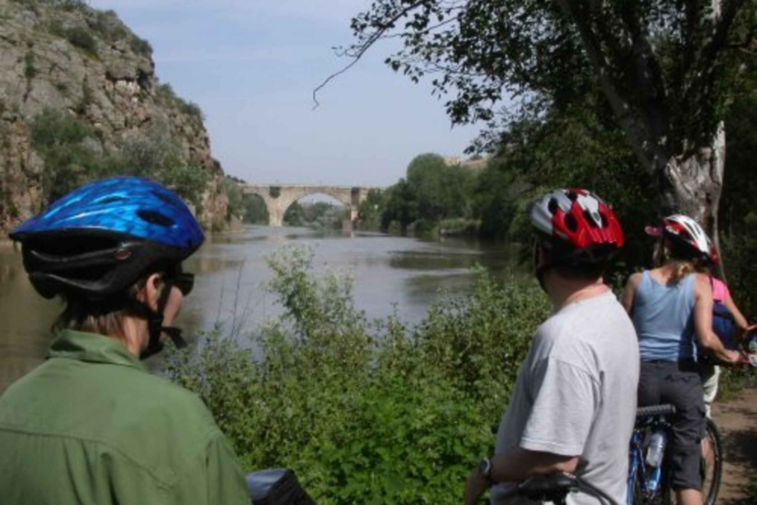 Toledo Full-Day Tour with Biking and Lunch from Madrid
