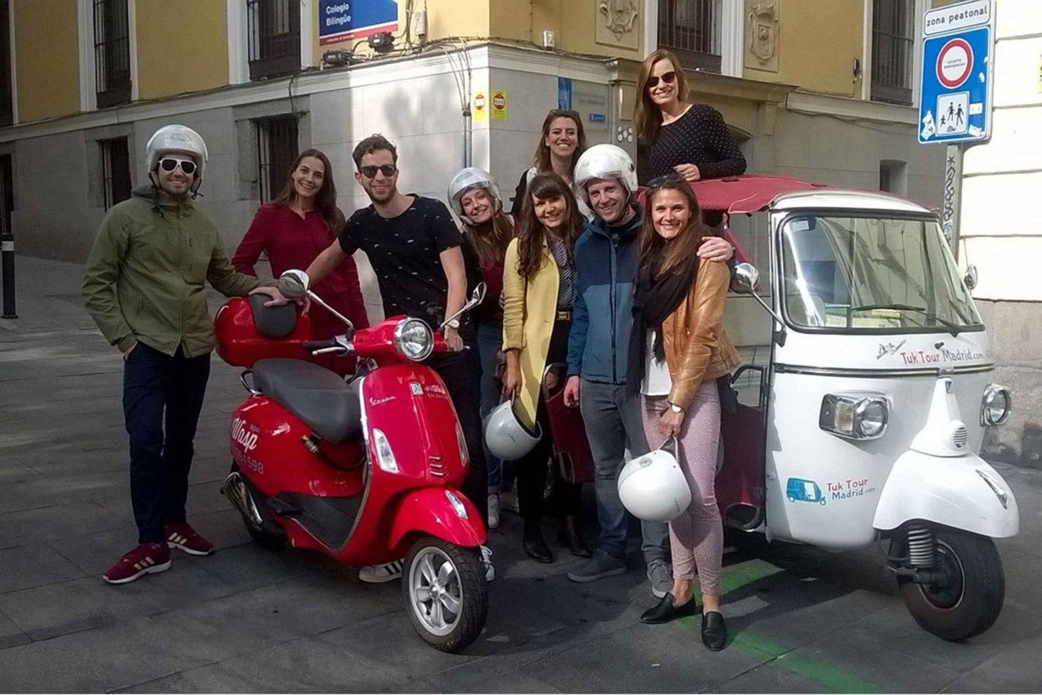 Vespa: City Center Tour (2 Hours - Up to 4 People)