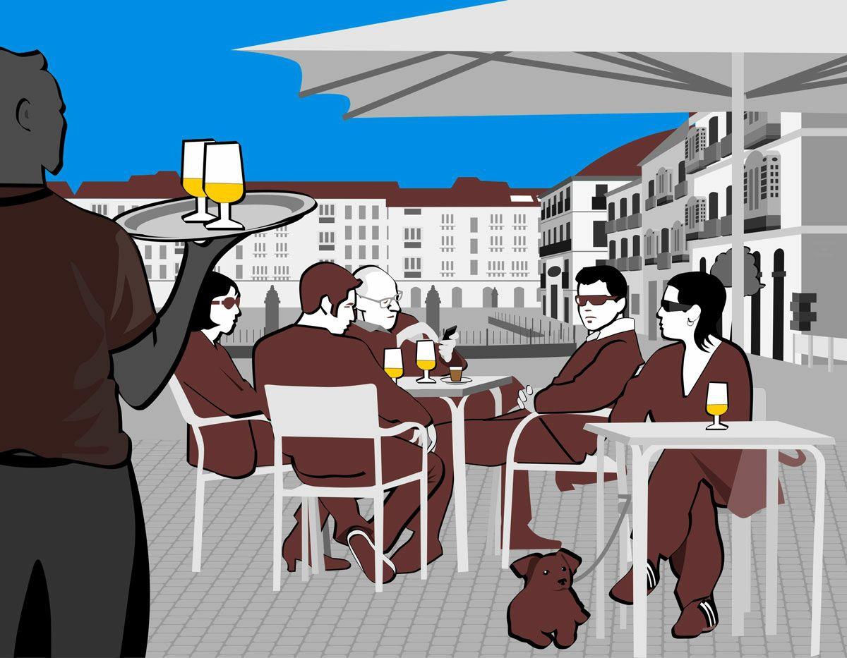 Bar la Calle de Bruselas