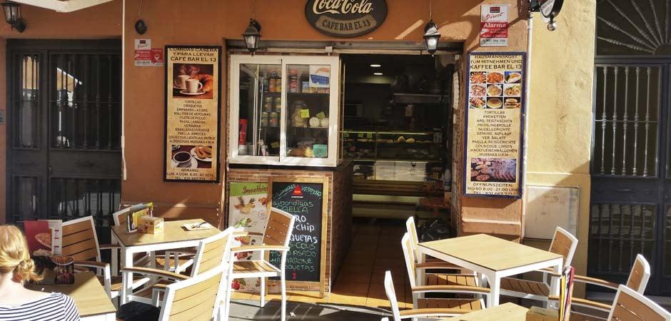 Cafe Bar El 13