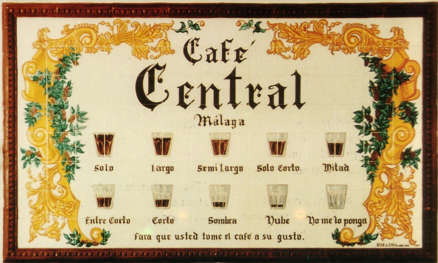 Cafe Central Málaga