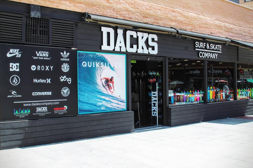 paquete elegante y resistente buscar auténtico mejor lugar para Dacks Surf and Skate company in Malaga | My Guide Malaga