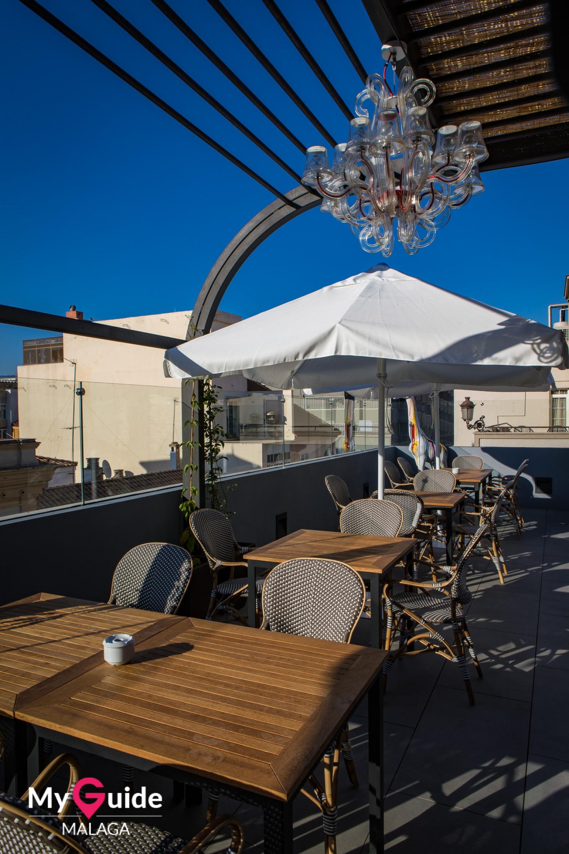 Mariposa Hotel Roof Terrace