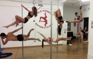 PoleFitness Esther y Clara