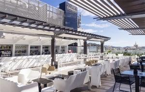 Terrace Lob @ El Corte Ingles
