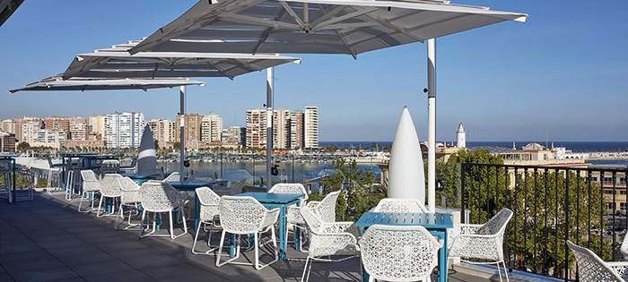 All of Malaga's rooftop bars