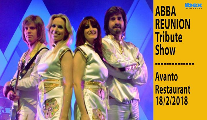 ABBA Reunion Tribute Show - Avanto Restaurant