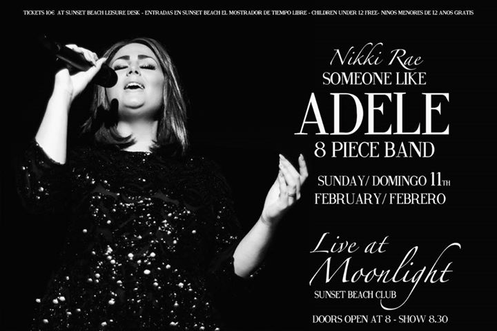 Adele tribute 8 piece Band