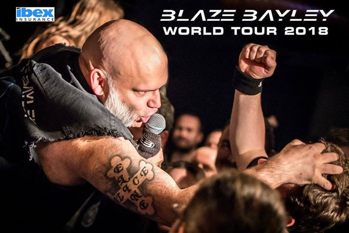 Blaze Bayley 'Infinite Entanglement' World Tour 2018