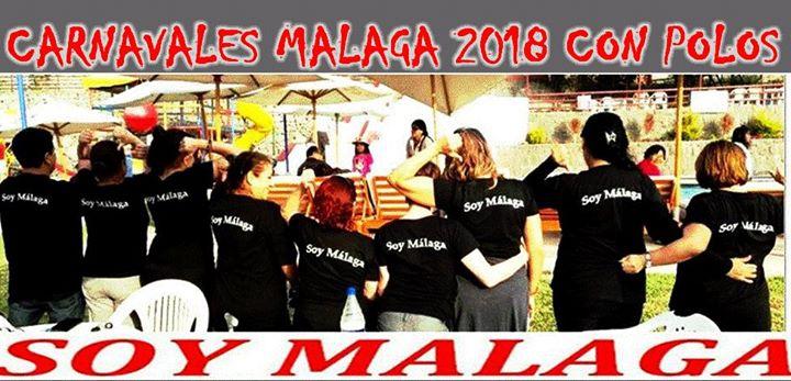 Carnavales de los Málaga Febrero 2018 y polos bajo pedido