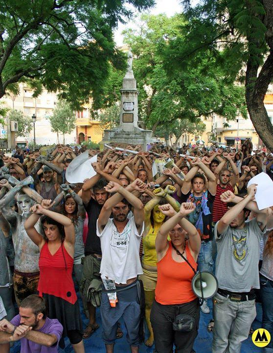 Concentración por la Libertá! Juicio CIE Capuchinos!