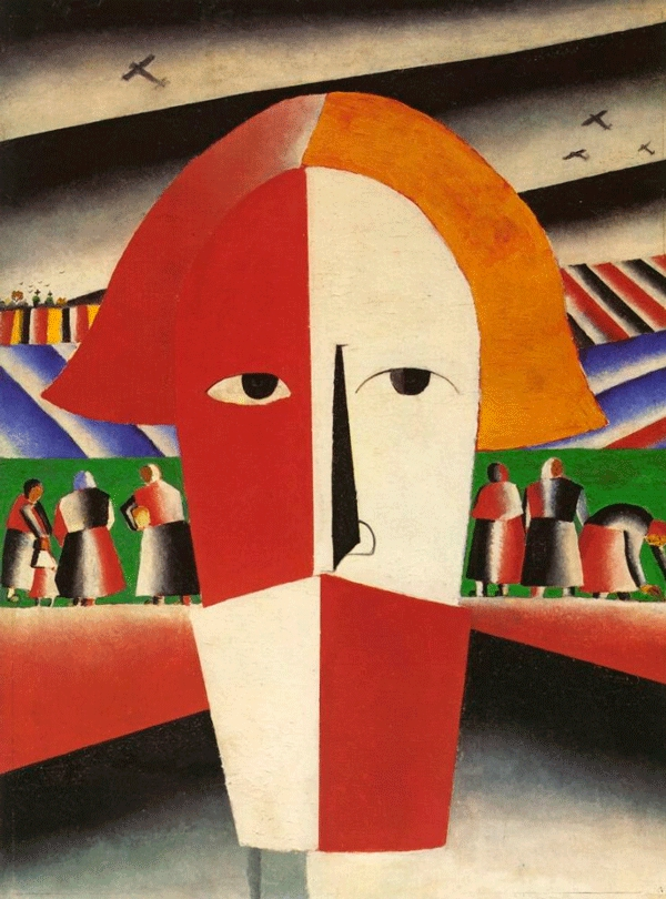 Kazimir Malevich at the Russian Museum