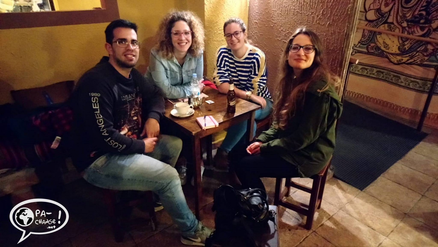 Language exchange meet up