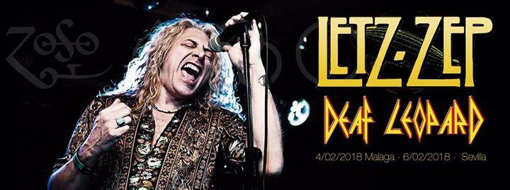 Letz Zep + Deaf Leopard