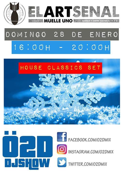 Ö2D En Directo En Artsenal (Muelle Uno - Málaga)