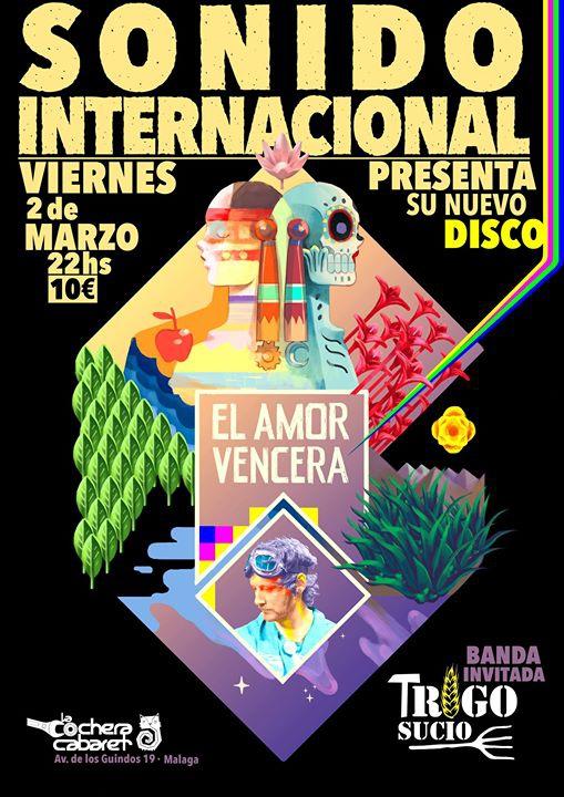 Sonido Internacional - Presentación Nuevo Disco - Málaga