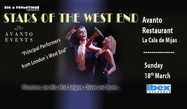 Stars of the West End - Avanto Restaurant