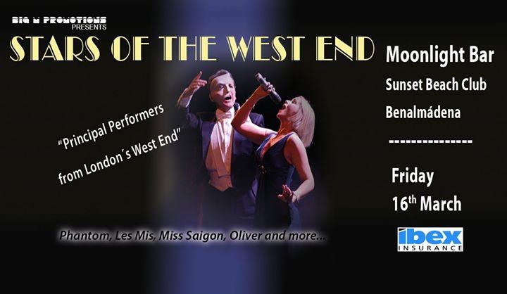 Stars of the West End - Moonlight Bar, Sunset Beach Club