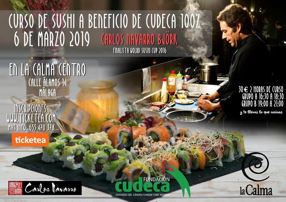 Sushi workshop Carlos Navarro