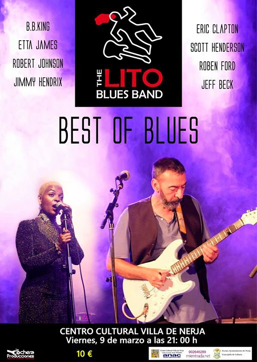 The LITO BLUES BAND - Nerja (Centro Cultural Villa de Nerja)