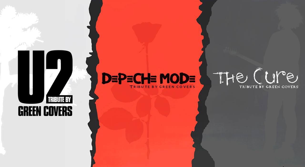 Tribute concert U2/Depeche Mode/The Cure