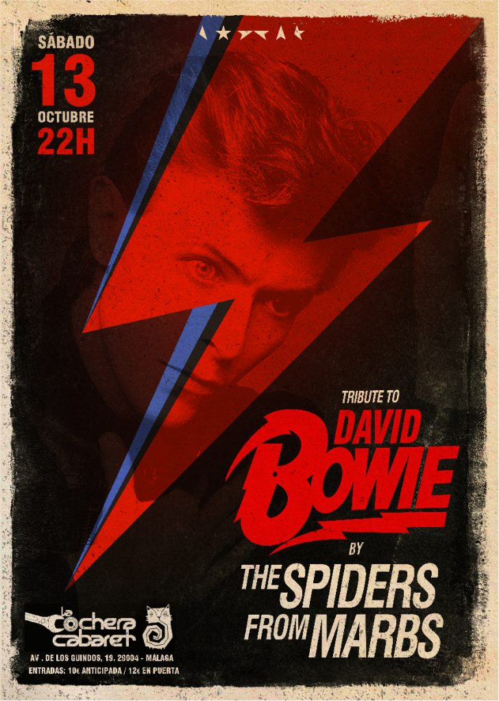 Tribute to David Bowie's Ziggy Stardust at La Cochera