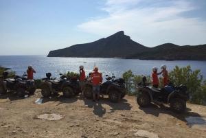 4-Hour Adventure Quad Tour to Dragonera Island