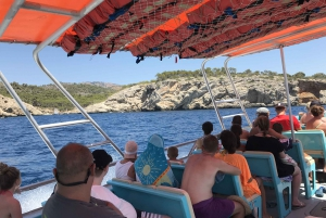 From Palma de Mallorca: Caves, Cliffs and Coves Boat Tour