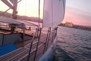 From Palma de Sunset Catamaran Cruise