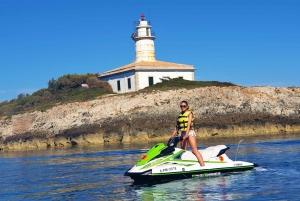 From Puerto de Alcudia: Eagle Nest Tour Jet Ski Trip